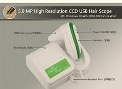 EH900U   500萬像素電腦型高清毛髮檢測儀