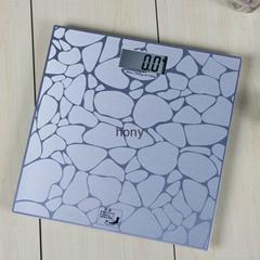 Aluminum platform electronic body scale item HY829