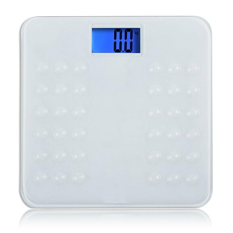 Silicone platform Electronic personal bathroom scale Item HY823S 2