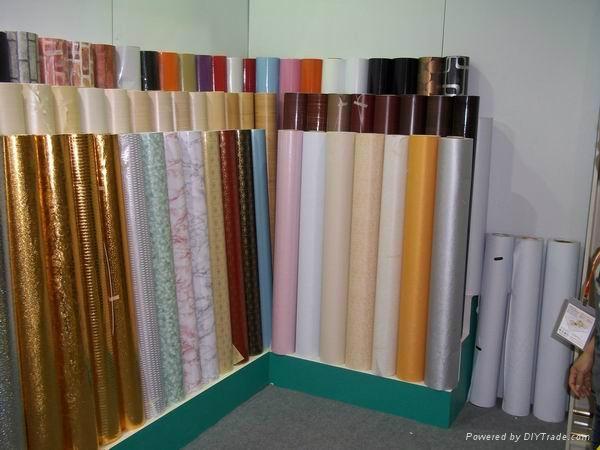 PVC wallpaper decoration film 1