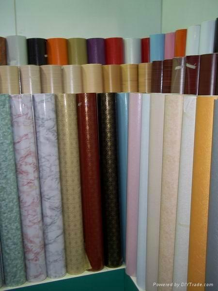 PVC wallpaper decoration film 4