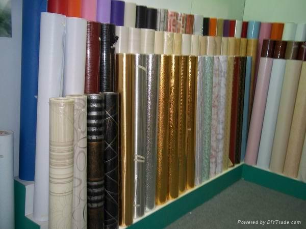 PVC wallpaper decoration film 5