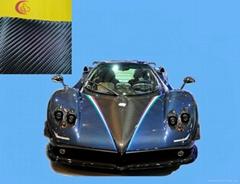 PVC碳纤维车身贴膜