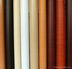 PVC wood grain decorative film