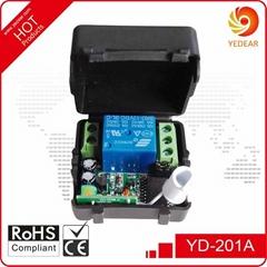 Yedear 1 Channel DC12V RF Wireless Remote Control Switch YD201A
