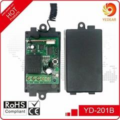 Yedear 1 Channel DC12V RF Wireless Remote Control Switch YD201B