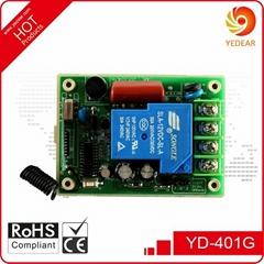 Yedear 1 Channel AC85-220V Wide voltage Wireless Remote Control Switch YD401G