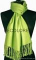 wool silk plain scarf shawl