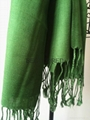 Fashion acrylic viscose yarn dyed twill weave plain scarf shawl MEET EU STARDARD 4