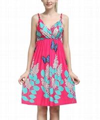 South American styles ladies fashion long dress