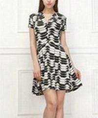 lady fashion cloing dress from guangzhou kaama clothing factory