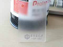 frosted acrylic sheet from guangzhou manufacturer