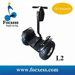 Focxess 72VLithium Battery Off-road 2 Wheel Auto Balancing Electric Scooter L2