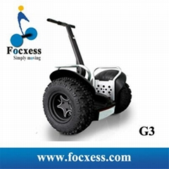 Latest Focxess G3 72V lithium Off Road Self balance scooter electric chariot