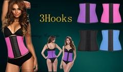 2016 wholesale slim latex waist trainers and latex corset latex waist cincher