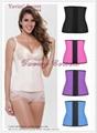 2016 wholesale slim latex waist trainers and latex corset latex waist cincher 2