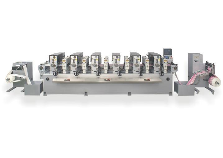 轮转印刷机 1