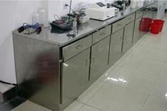 不鏽鋼邊實驗台