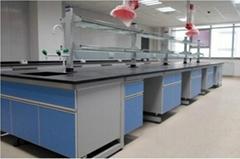 鋼木中央實驗台