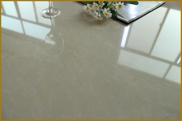 Polished granite floor tiles