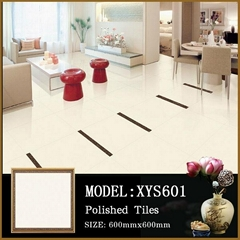 Porcelain tiles 60x60 with white granite floor tiles in China