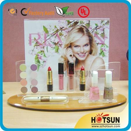 hot sale acrylic makeup display stand 4
