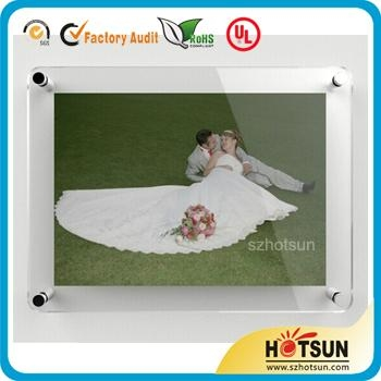 acrylic customized wedding photo frame 2