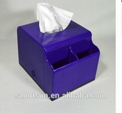 acrylic product clear tissue box