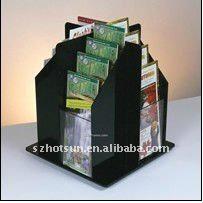fashion-desiged acrylic brochure holder/poster holder 2