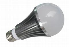 LED球泡灯-车铝