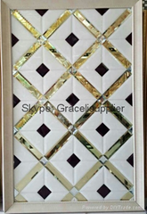 Decorative mirror glass for TV wall or  background wall