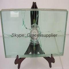 夾膠防彈玻璃