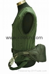 Waist Pack Ice Cooling System