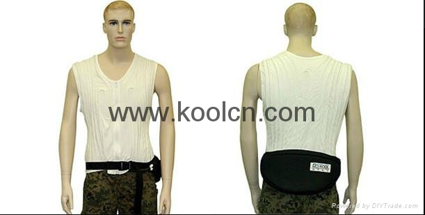 Waist Pack Ice Cooling System 2