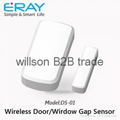 Big capacity Li-ion battery based wireless door sensor with anti-tamper