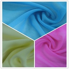 SGS Polyester Solid Chiffon/Georgette Fabric (JLF)