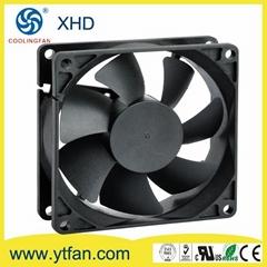 80x80x25mm 12V DC  Brushless  Cooling Fan