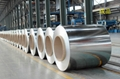 Galvanized steel sheet and coil 1