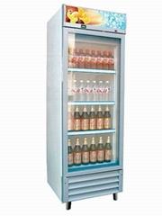 浙江宁波玻璃门展示饮料柜