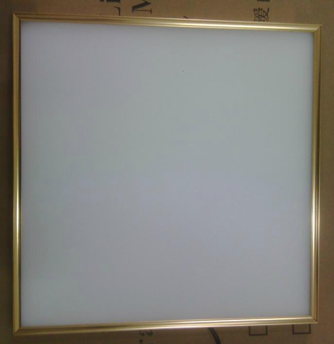 高亮家居照明精品燈具金邊300300LED面板燈 1