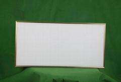 高亮辦公照明精品燈具金邊300600LED面板燈