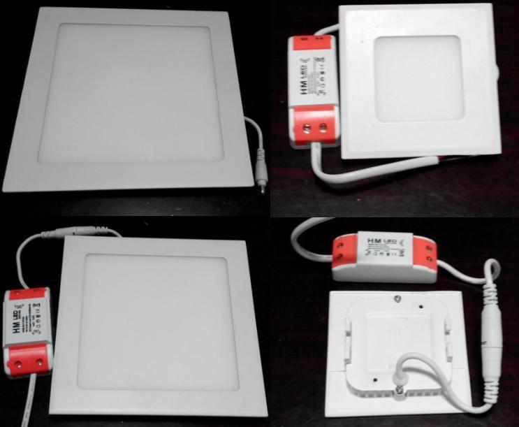 高亮室內照明精品燈具超薄方形2.5寸led天花燈 2