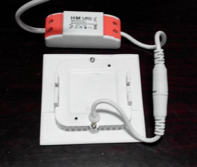 高亮室內照明精品燈具超薄方形2.5寸led天花燈 3