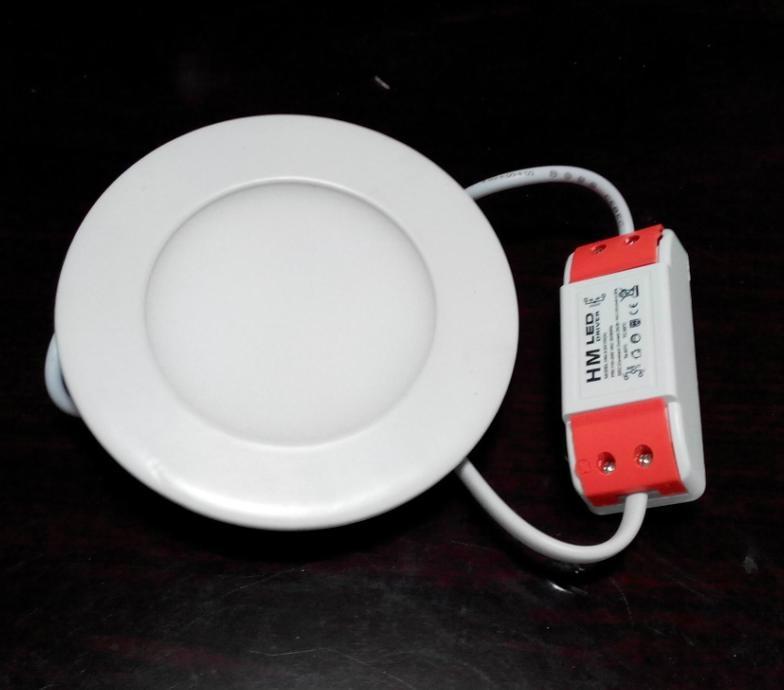 超薄精品燈具嵌入式圓形3寸led筒燈 1