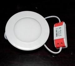 超薄精品燈具嵌入式圓形3寸le