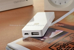 wholesale price Mobile Phone Power Bank 4000mah 18650 portable battery power ban