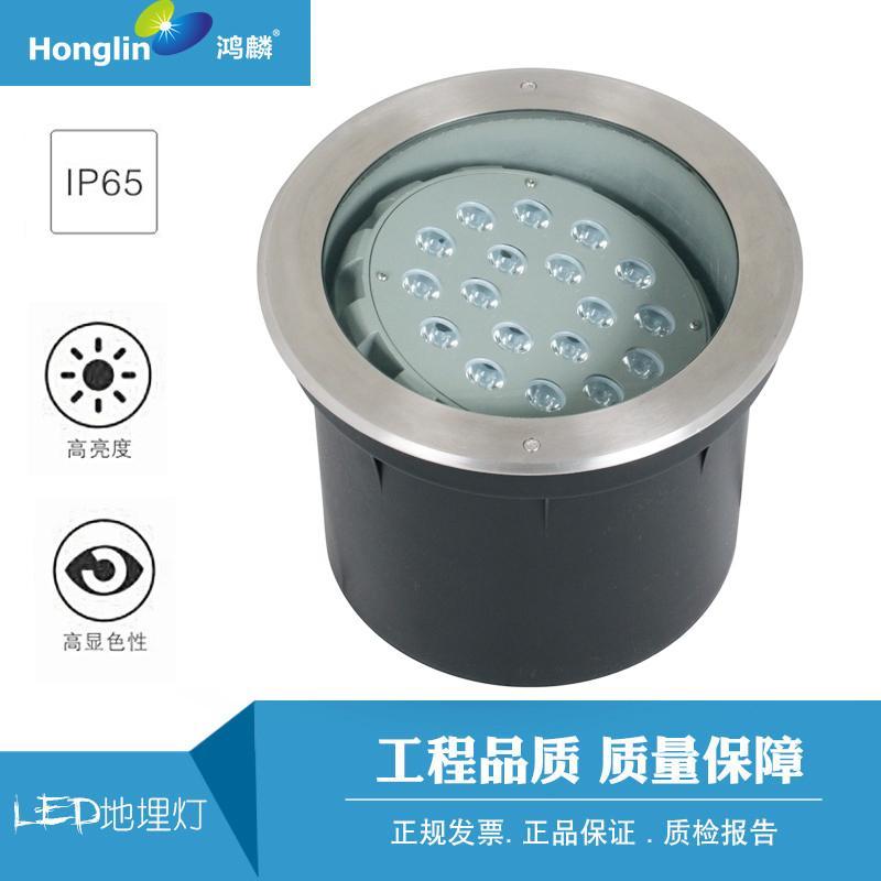 LED偏光地埋燈 可調角度地埋燈 1