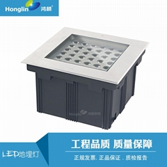 36W Square buried ground LED in-ground light