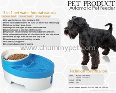 PW-101 3 in 1 Pet Water fountain
