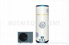 heat pump water heater (family blue and white series)